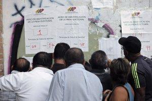 Voters in Venezuela/www.vosizneias.com