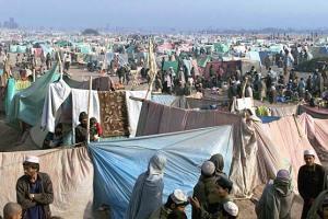 An Afghan refugee camp/www.mole.com