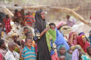 Somali refugees during the famine/FAO Somalia