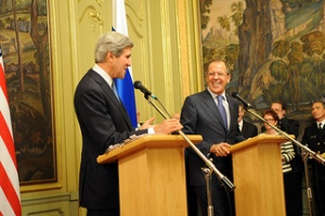 Kerry and Lavrov in Moscow