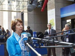 Ms. Catherine ASHTON, High Representative of the EU for Foreign Affairs and Security Policy.
